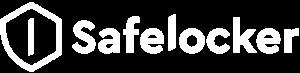 Safelocker kluisexploitant logo wit