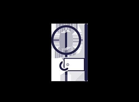 Kluis veilig opbergen Safelocker icon